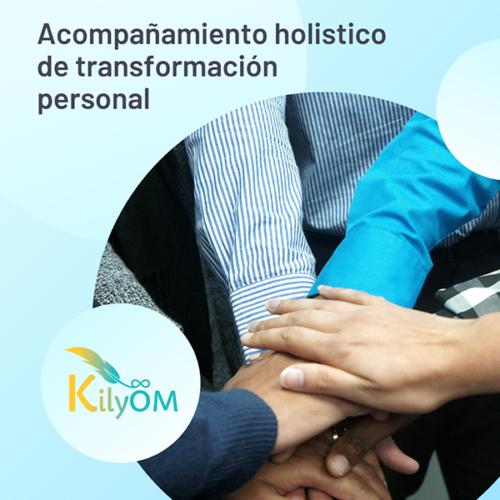 Sesión de acompañamiento holistico de transformación personal - KilyOM