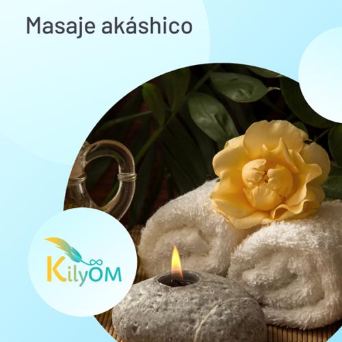 Sesión de masaje akáshico - KilyOM