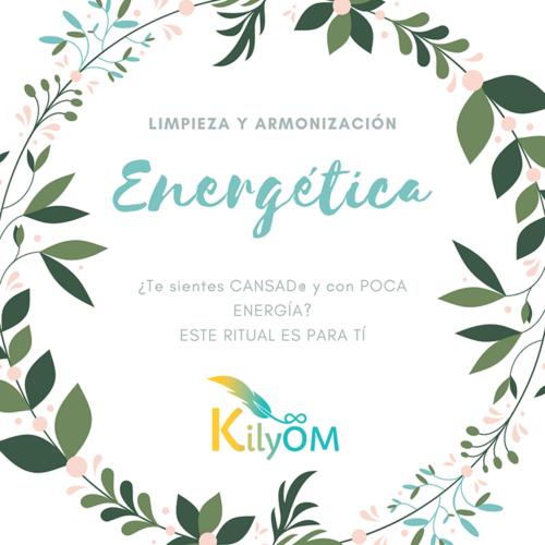 Limpieza y armonización energética - KilyOM